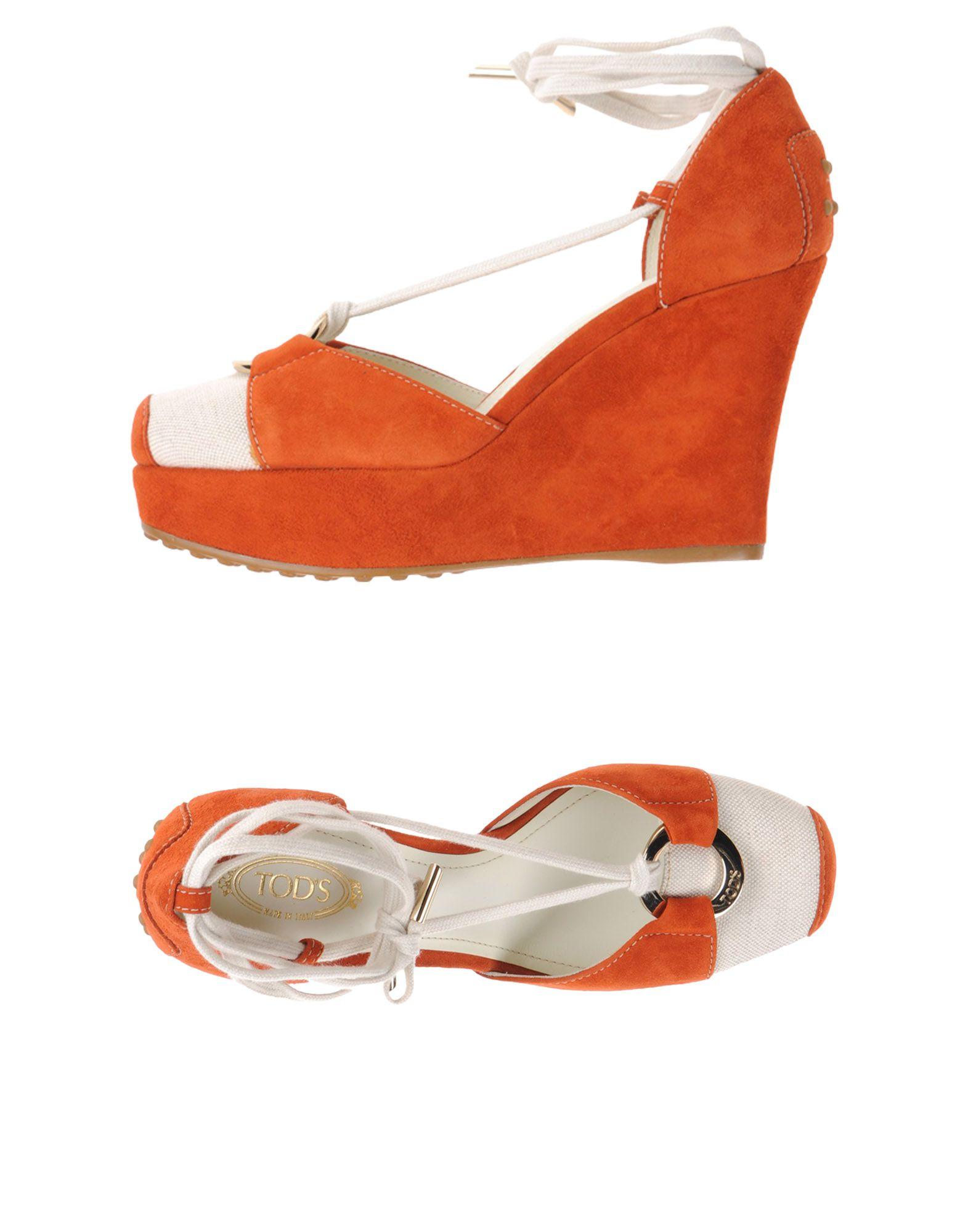 Stilvolle billige Schuhe Tod's Sandalen Damen  44987629QH