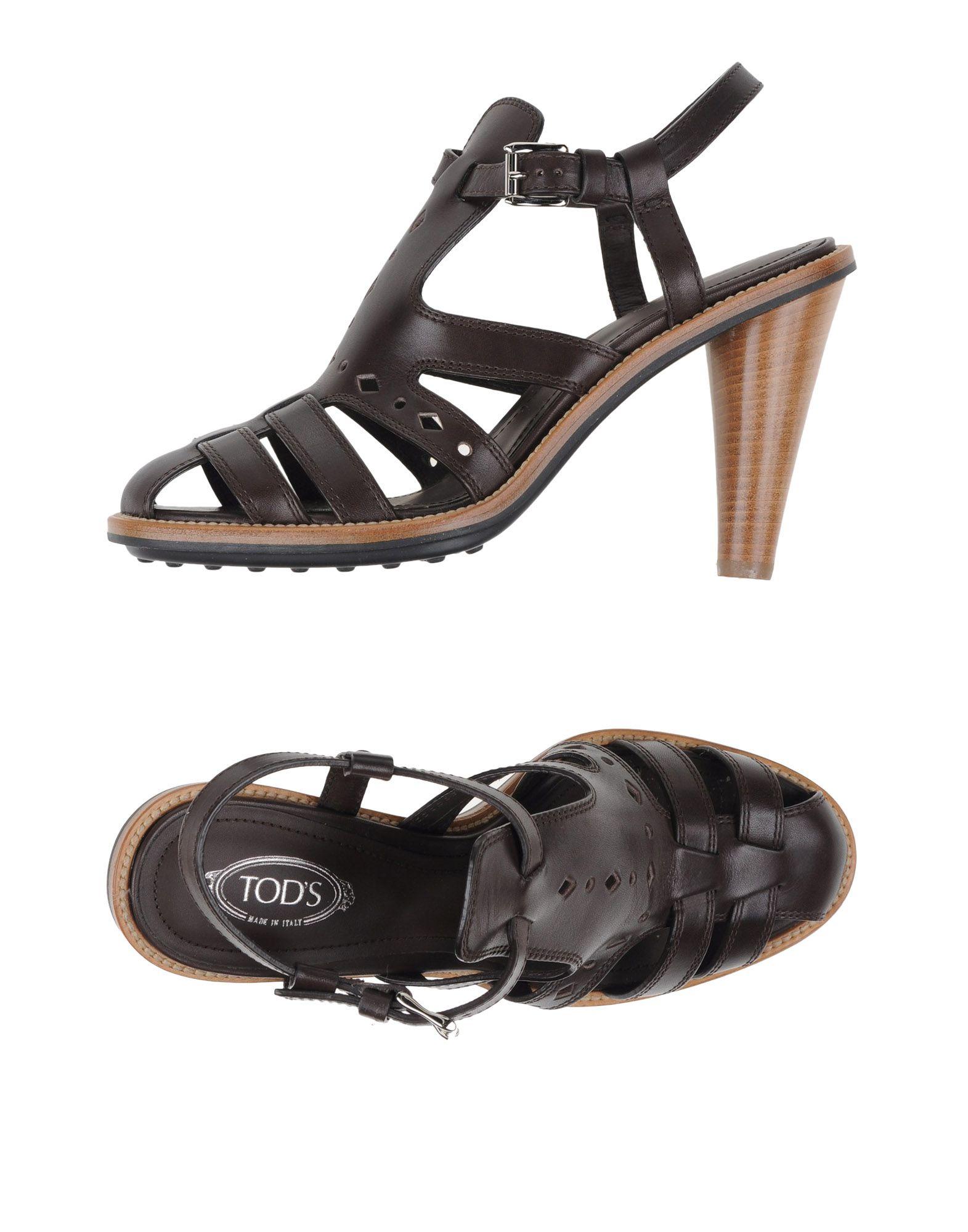 Gut um billige Schuhe zu tragenTod's Sandalen Damen  44987761NX