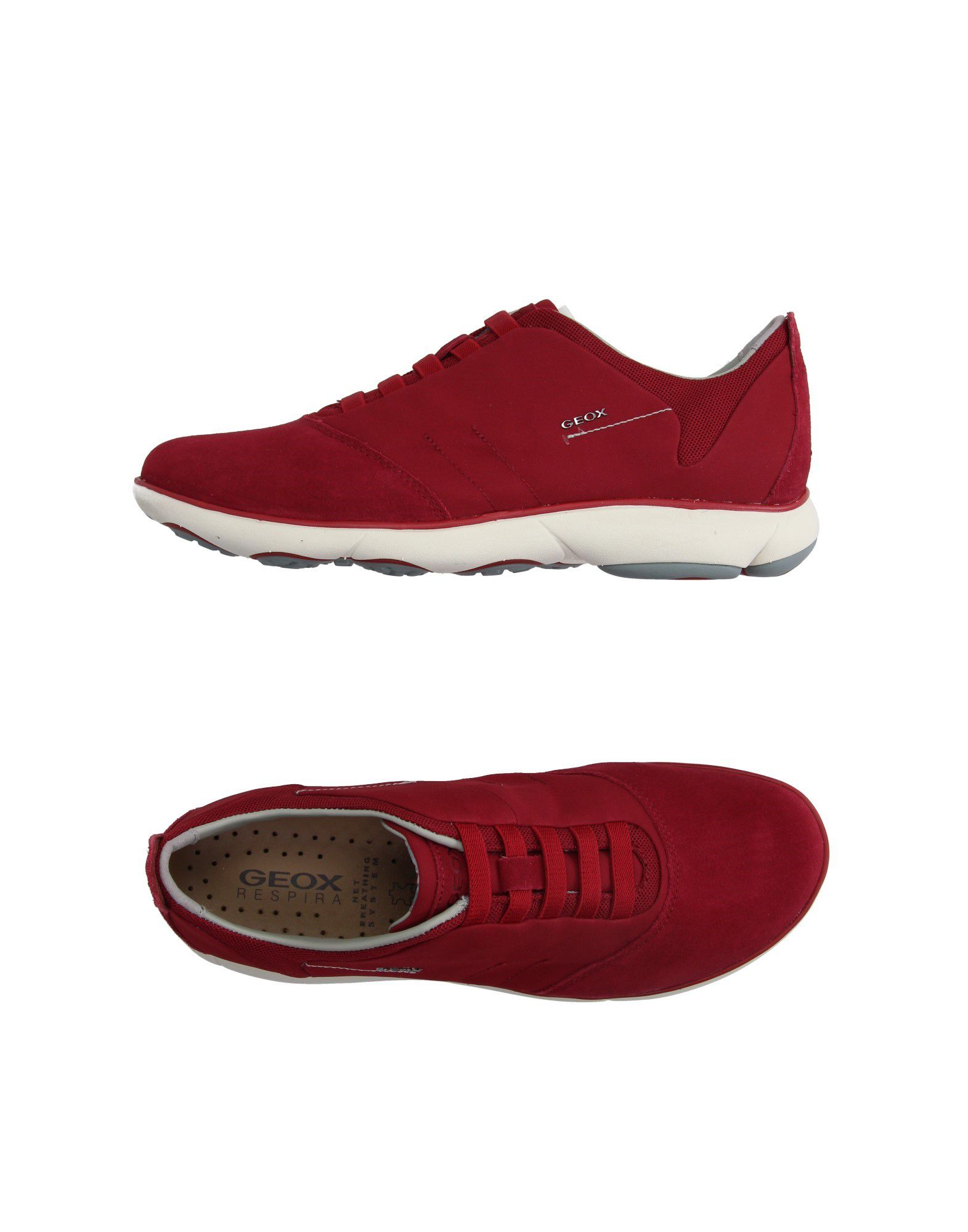 Sneakers Geox Homme - Sneakers Geox  Rouge Super rabais