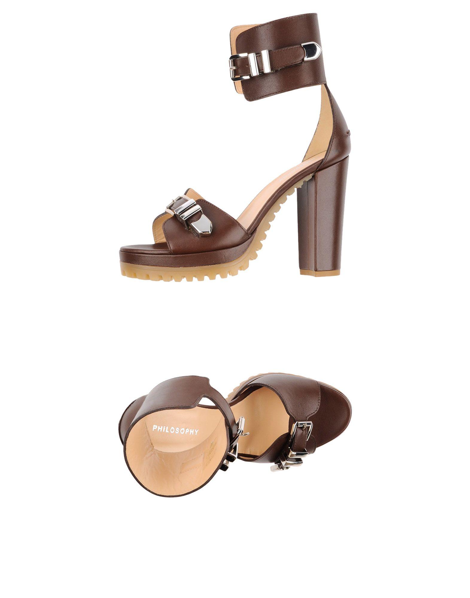 Rabatt Schuhe Philosophy Di Alberta Ferretti Sandalen Damen  44993042JX