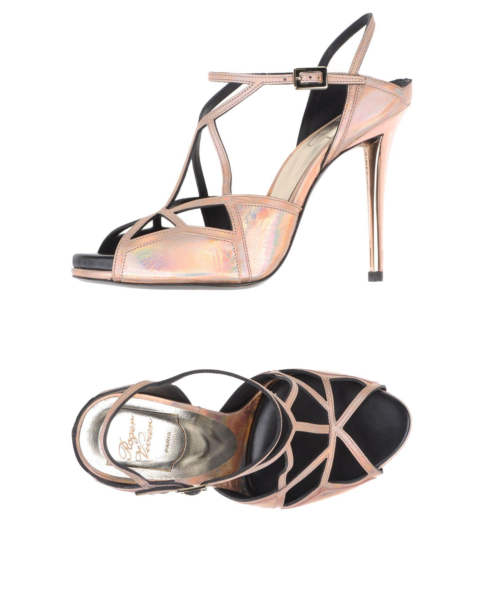Roger Vivier Sandalen Damen  44993895KJGut aussehende strapazierfähige Schuhe