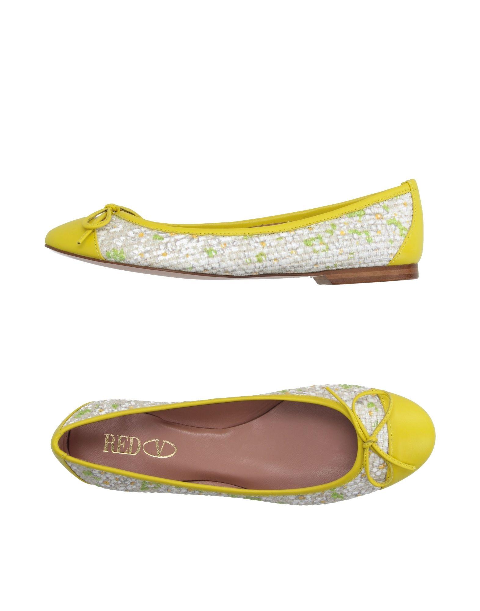 Stilvolle billige Schuhe Red(V) Ballerinas Damen  44994986BA