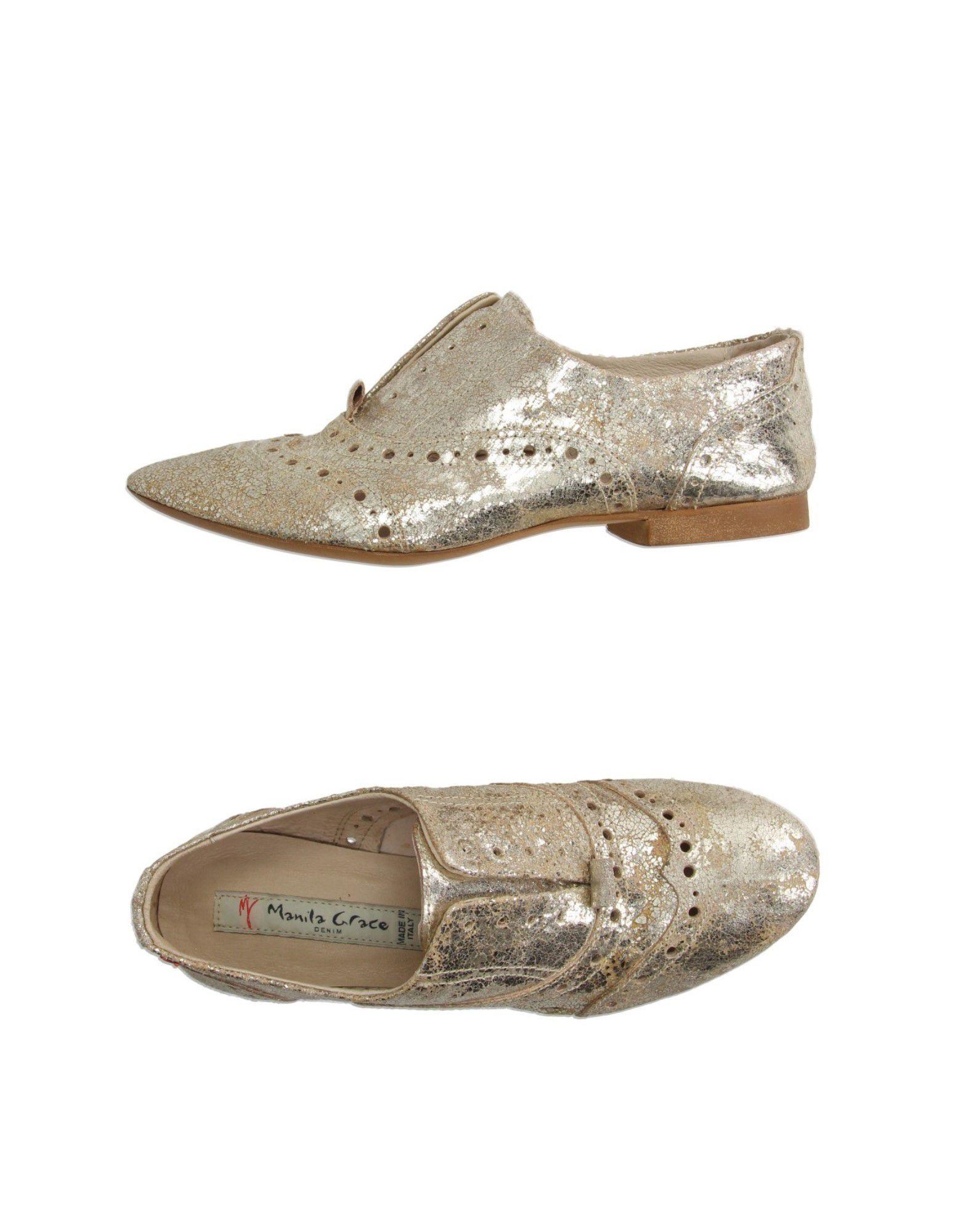 Gut tragenManila um billige Schuhe zu tragenManila Gut Grace Denim Mokassins Damen  44995786IL b74452