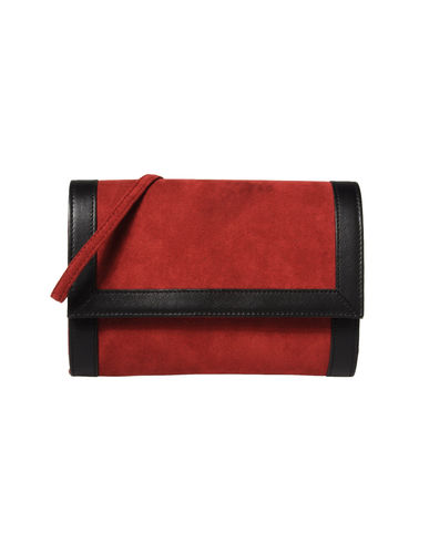 A DI ALCANTARA® - Across-body bag