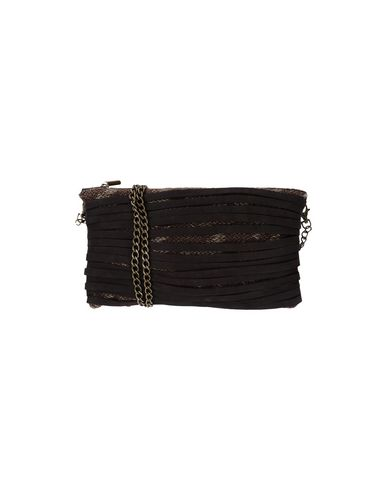 ALMALA Cross-Body Bags in Dark Brown