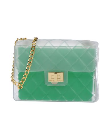 DESIGNINVERSO Cross-Body Bags in Light Green