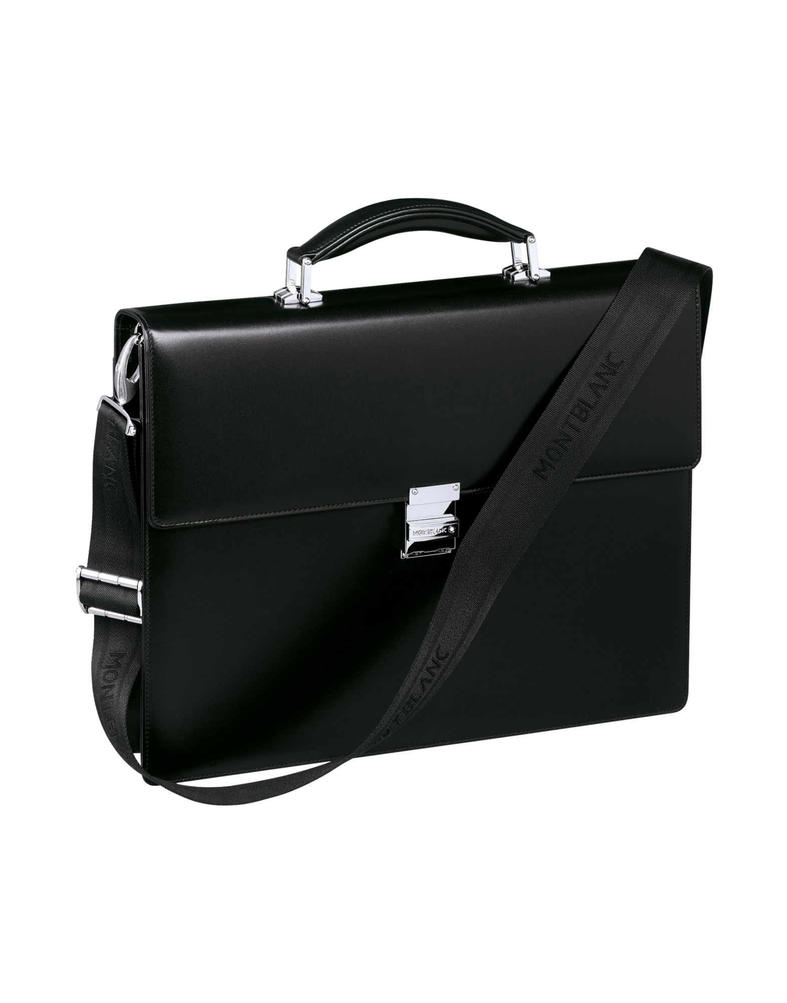 Borsa Da Lavoro Montblanc Meisterstück Single Briefcase Black - Uomo - Acquista online su