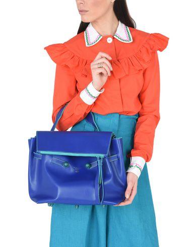 Handbag blue Bright PARMA PUGNETTI PUGNETTI PARMA zwZq81po