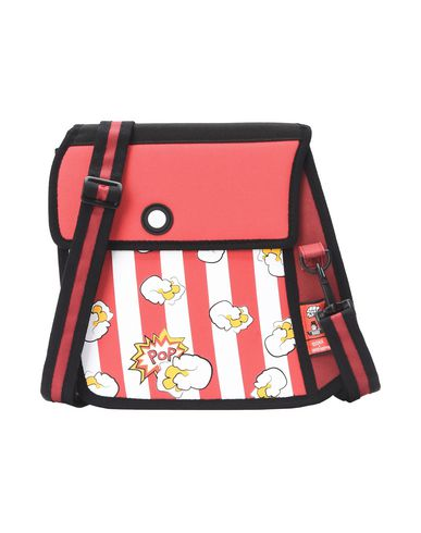 JUMPFROMPAPER® body POPCORN PRINTED bag Across Red BwqSB16r