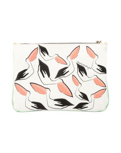 CLUTCH Pellicano SS17 Handbag LEO STUDIO DESIGN Light green 010 qfUI4