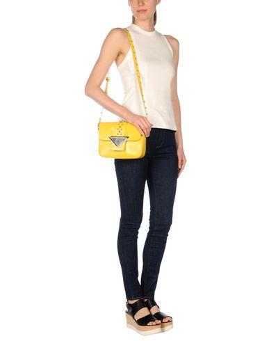 SARA BATTAGLIA Medium Leather Bag in Yellow