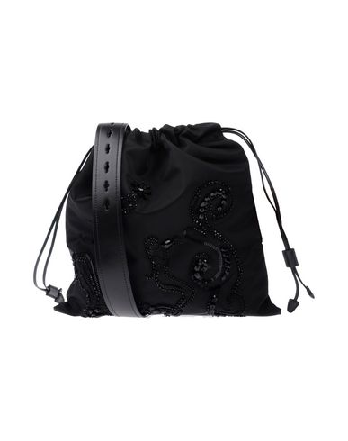 Embellished Suede Tote in Black from yoox.com