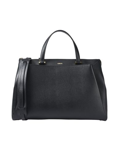 LISON Handbag Black GRAINED LANCEL LEATHER fqwUUB