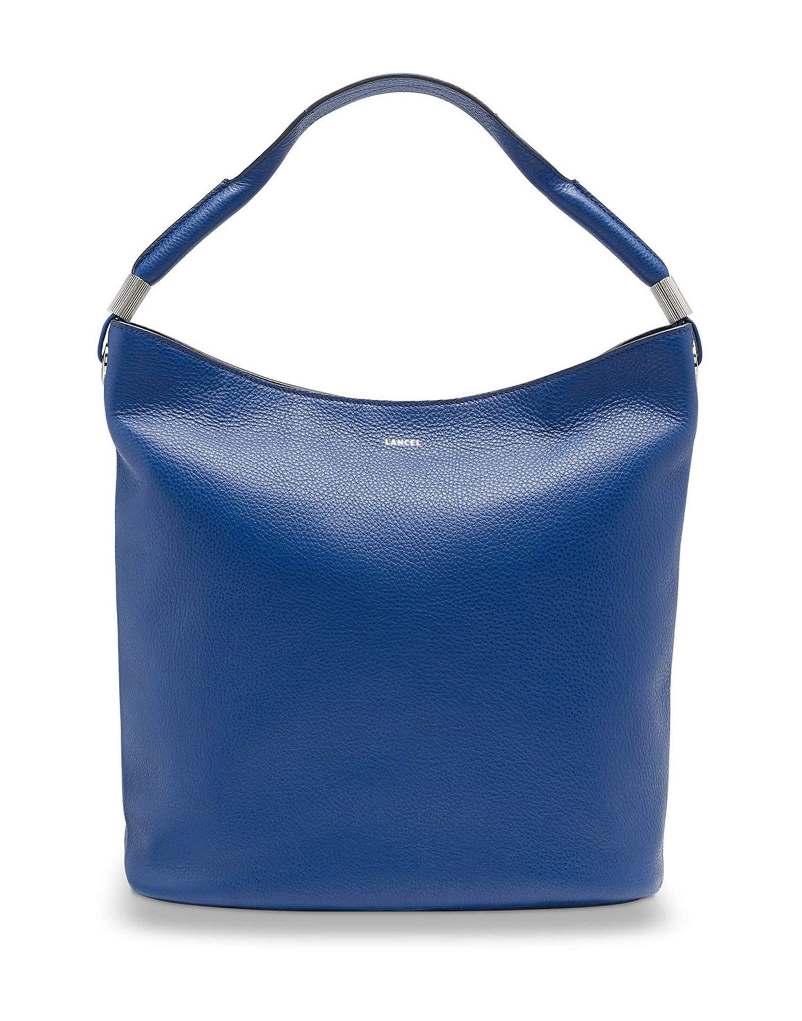 Borsa A Mano Lancel Flore Grained Leather - Donna - Acquista online su