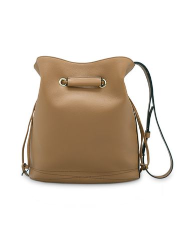 HUIT bag body GRAINED LEATHER Camel LE LANCEL Across FZBwSqaWBn