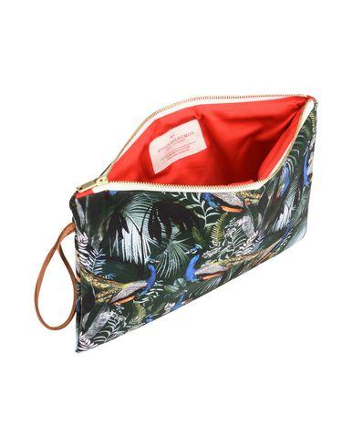 Dark LARGE Handbag green CLUTCH MAISON BALUCHON wOFtI