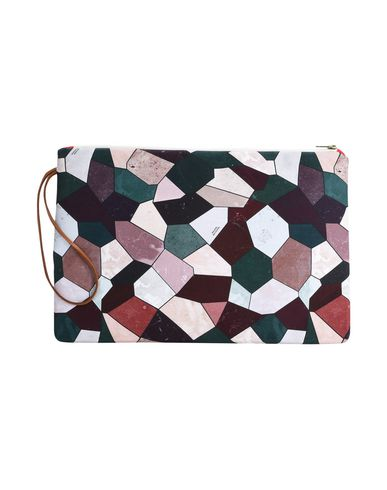MAISON BALUCHON Handbag MAXI Purple CLUTCH T0T4cq