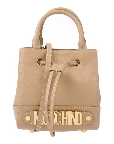 Moschino Handbags In Camel