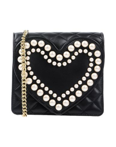 Black body Across bag BOUTIQUE MOSCHINO w0xpYqUUP