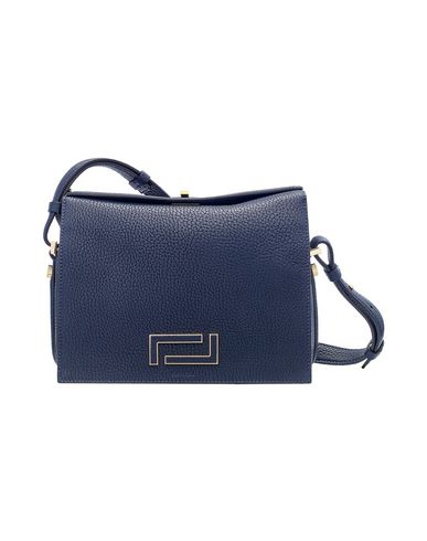 blue LEATHER bag body Across LANCEL PIA Dark 58xzwWYq