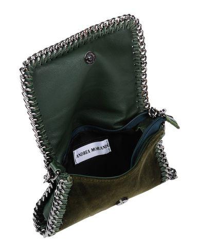 green ANDREA ANDREA Handbag green Dark MORANDO Handbag ANDREA Dark MORANDO 4SqdPWwT