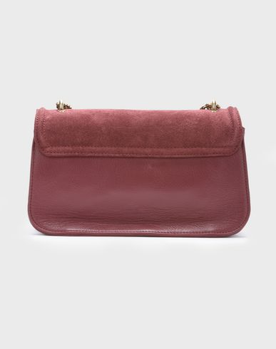 Across bag body Maroon evening lois medium double carry BY CHLOÉ SEE H0qBP1fH