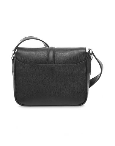 NINE LANCEL GRAINED Across bag body Black LEATHER 1xFvU