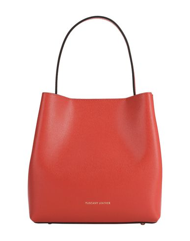 Red bag LEATHER TUSCANY Shoulder LEATHER TUSCANY PxIn8X