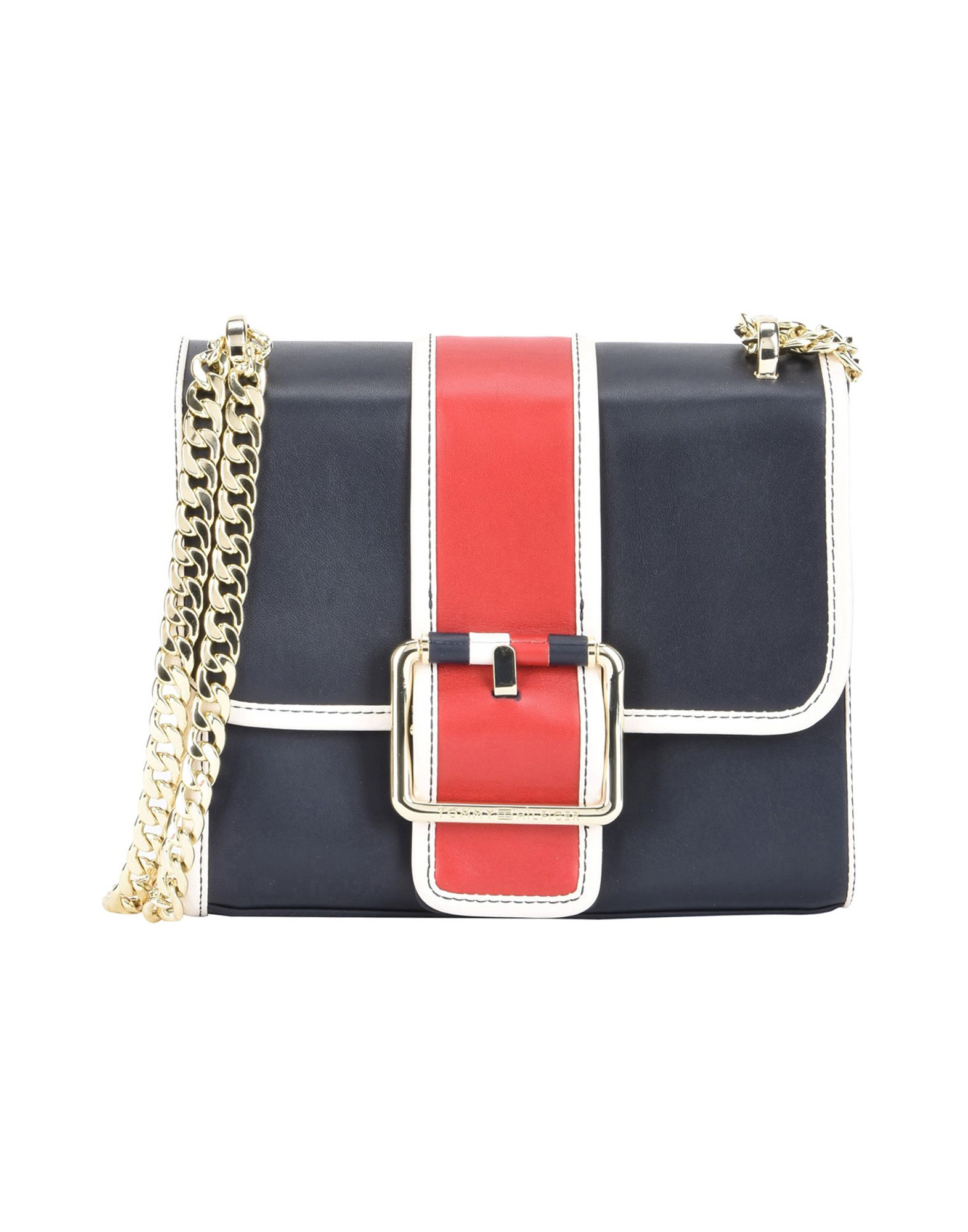 Borsa A Tracolla Tommy Hilfiger Tommy Buckle Leather Crossover - Donna - Acquista online su
