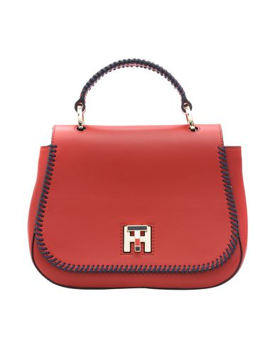 TOMMY HILFIGER TH TWIST LEATHER XOVER LACING Bolso de mano