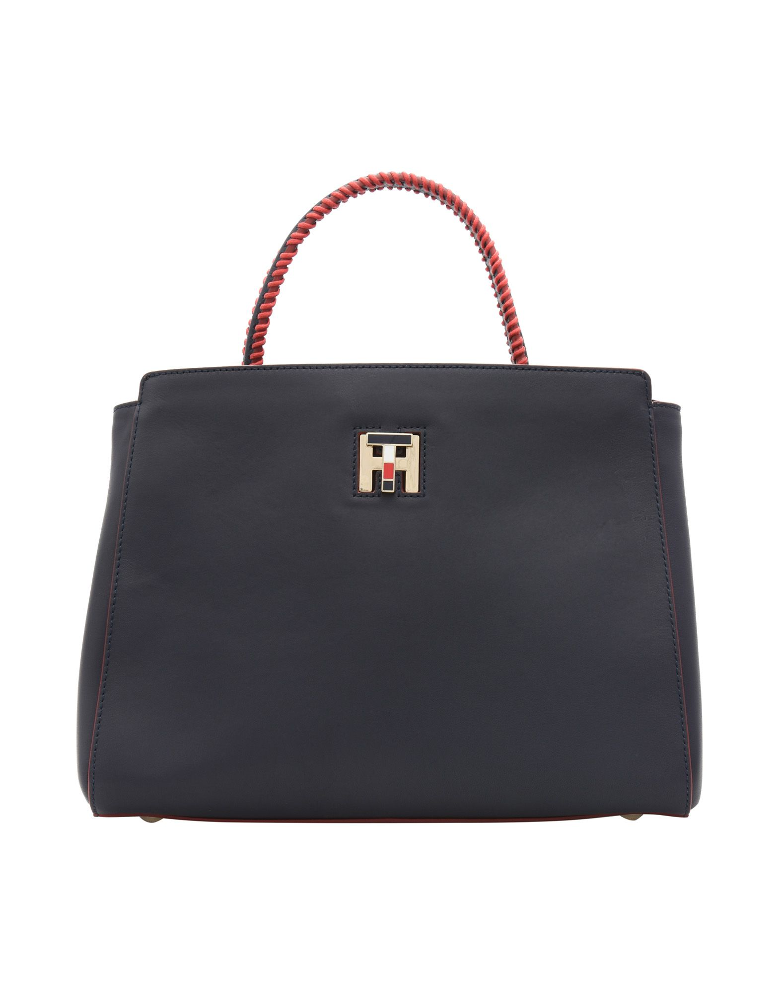 Borsa A Mano Tommy Hilfiger Th Twist Leather Med Tote Lacing - Donna - Acquista online su