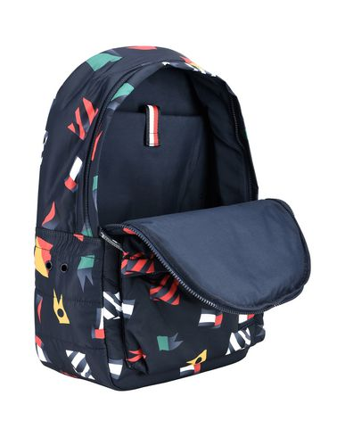 TOMMY HILFIGER LIGHT NYLON BACKPACK MULTI FLAG Mochila y riñonera