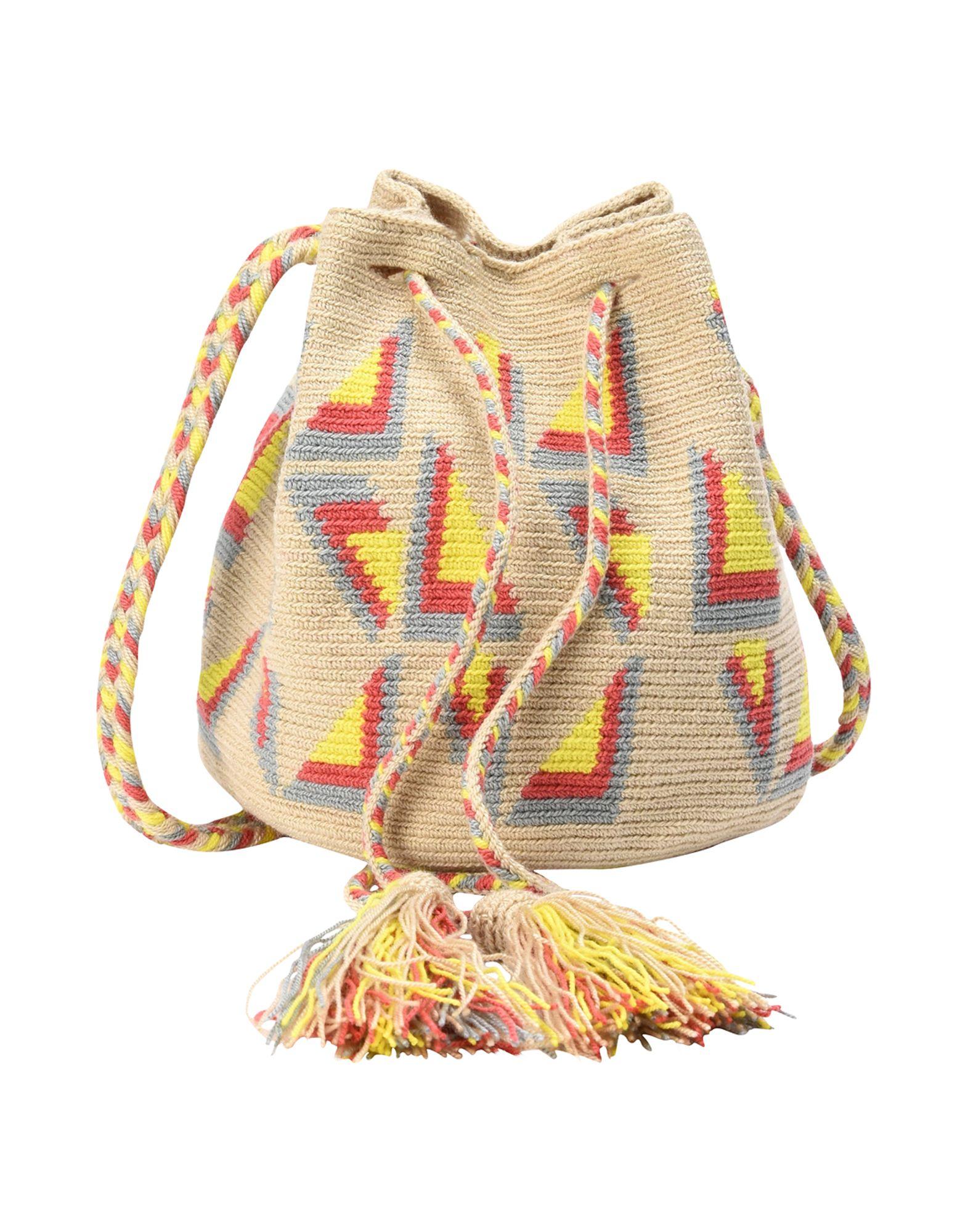 Borsa A Tracolla Guanabana Medium Wayuu Bag - Donna - Acquista online su