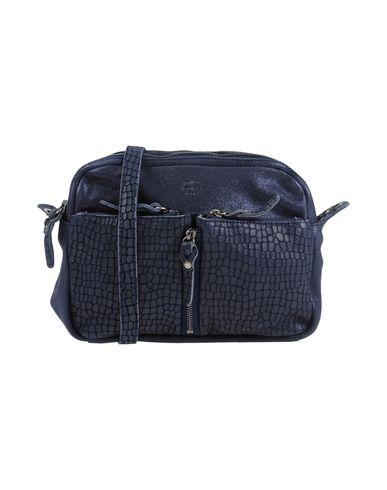 LOUISE MILA Across body blue Dark bag Rx7xqw