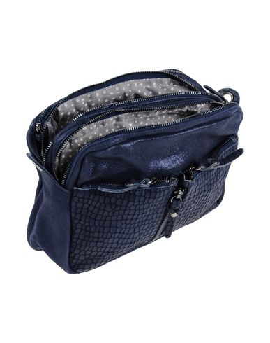 LOUISE MILA Across body blue Dark bag Rx7xqw