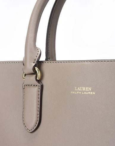 RALPH Satchel Smooth Handbag Leather LAUREN LAUREN grey Dove 1WdcqggUKZ