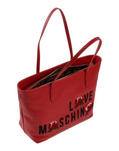 LOVE LOVE MOSCHINO Handbag LOVE Red MOSCHINO MOSCHINO Handbag Red Handbag qRCvCTw