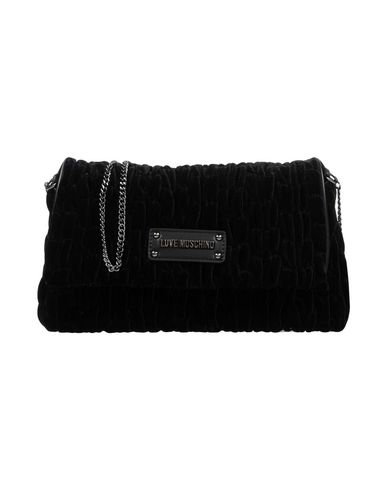 bag LOVE Across Black MOSCHINO body w1r5q1tx