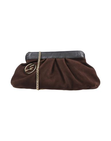 Dark bag GATTINONI Across brown body qvtW8aO1