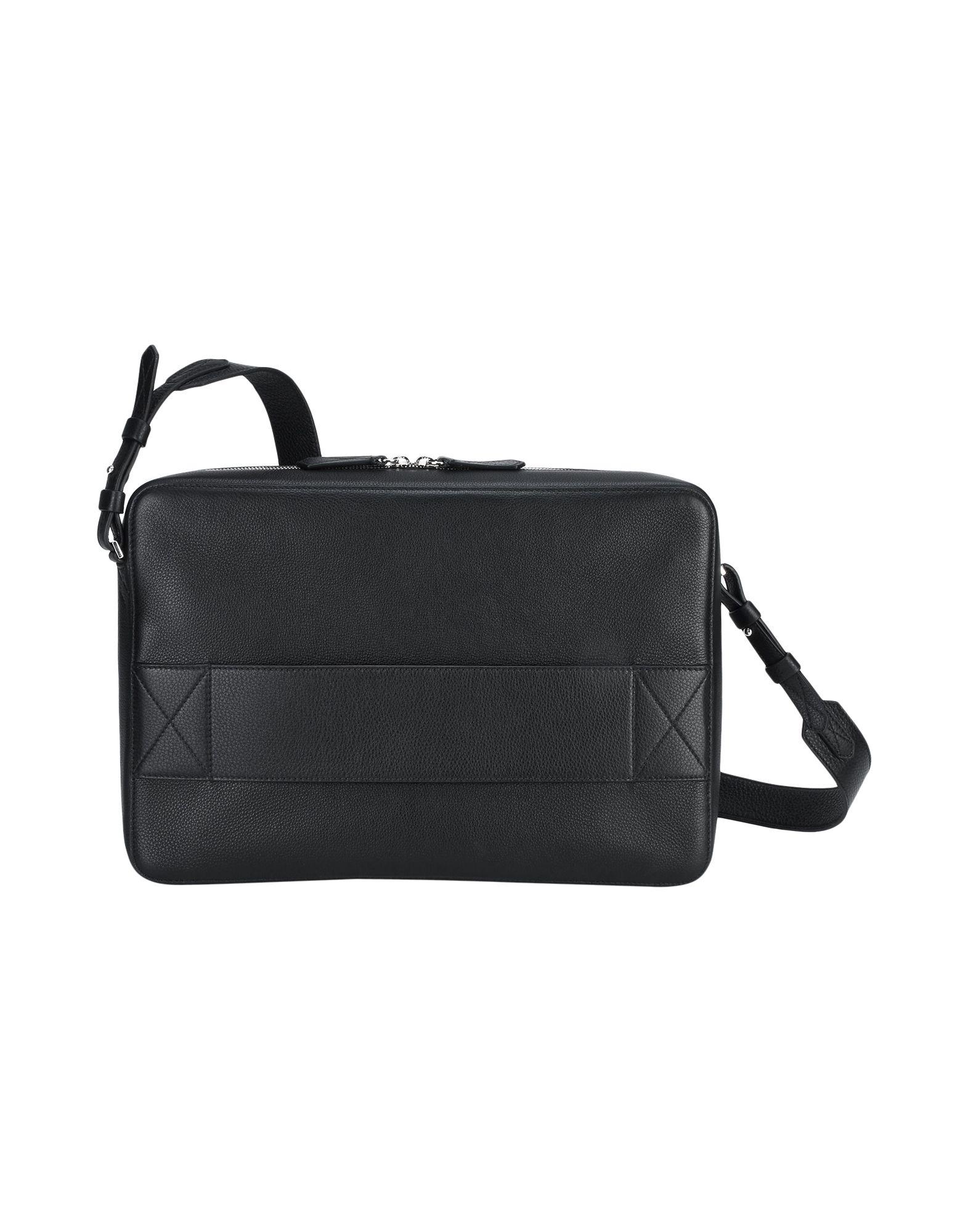 Borsa Da Lavoro Lancel Signature Grained Leather - Uomo - Acquista online su