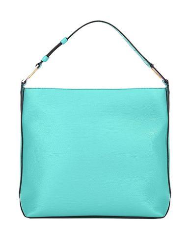 Turquoise MAX LANCEL GRAINED LEATHER Handbag IXxaUqaZ