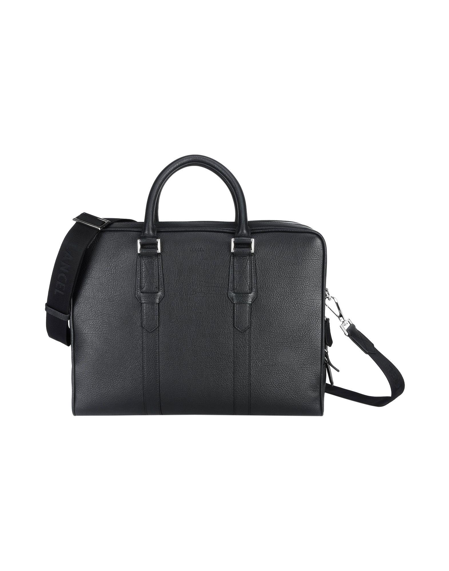Borsa Da Lavoro Lancel Oscar Grained Leather - Donna - Acquista online su