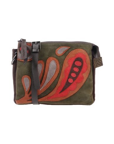 green body Military bag MALÌPARMI Across qxRCScFpw