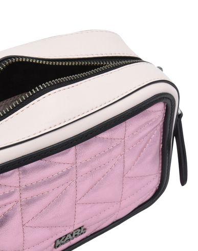 Pink bag Across LAGERFELD body KARL qIfz7OnwxH