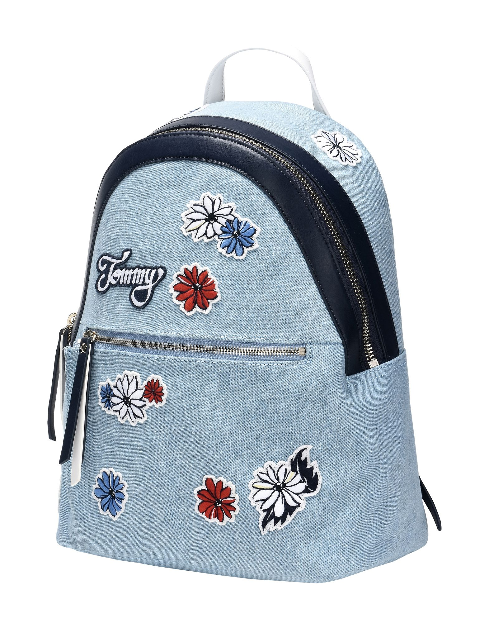 Zaini & Marsupi Tommy Jeans Backpack Icon Canvas Flower - Donna - Acquista online su