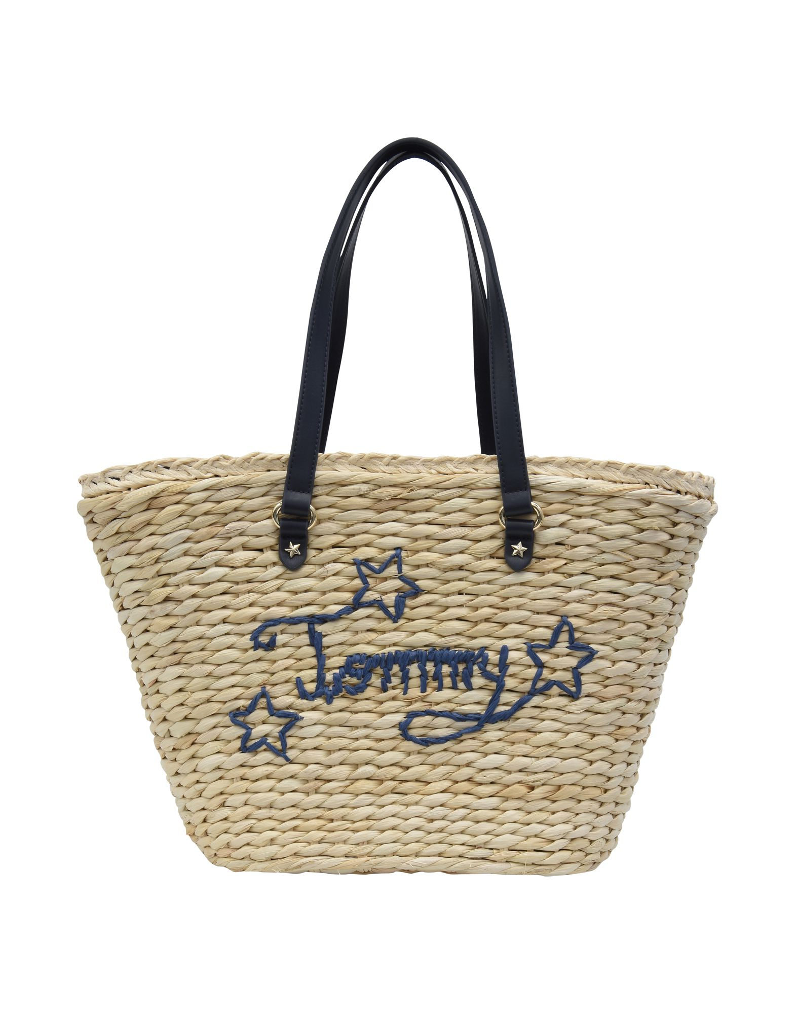 Borsa A Mano Tommy Hilfiger Th Straw Tote - Donna - Acquista online su