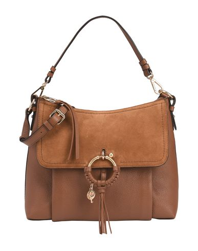 SEE Across CHLOÉ BY JOAN MEDIUM Brown bag body Awq7A