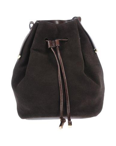 Dark Across bag HERITAGE brown body HALSTON R7wY6Y