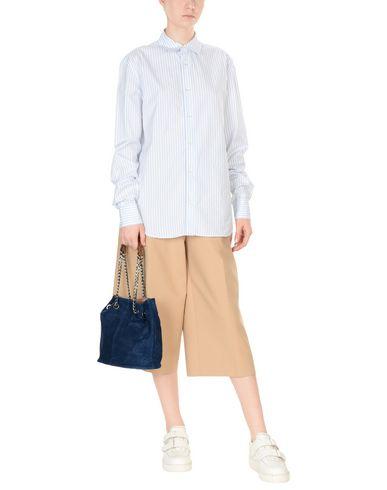WHITE IN 8 WHITE Handbag Handbag 8 IN WHITE Blue Blue 8 IN Handbag rrCwq1