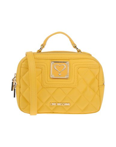 LOVE Handbag LOVE MOSCHINO MOSCHINO Yellow wq0HYxx16